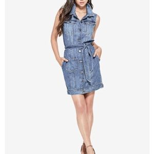 Guess denim dress